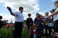 В Плеханово начали сносить дома в цыганском таборе, Фото: 160