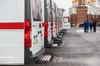Алексей Дюмин передал региональному Центру медицины катастроф 39 новых автомобилей, Фото: 17