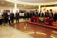 В Туле прошла церемония крепления к древку полотнища знамени регионального УМВД, Фото: 4