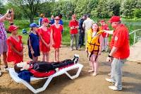 МЧС обучает детей спасать людей на воде, Фото: 20