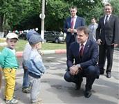 Владимир Груздев посетил детский сад №50 в Новомосковске, Фото: 4