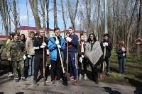 Посадка деревьев в Комсомольском парке, Фото: 14