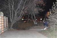 Глубина провала на Одоевском шоссе в Туле - примерно 3 метра, Фото: 10