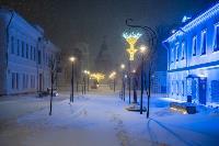 В Туле ночью бушевал буран, Фото: 65