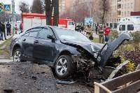 ДТП на пр. Ленина: BMW снес остановку, Фото: 4