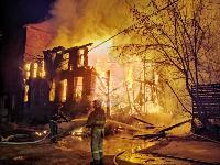 Крупный ночной пожар в Туле, Фото: 13