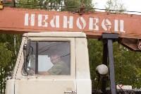 Памятник воинам-автомобилистам. Возвращение. 18.08.2015, Фото: 19