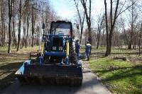 Посадка деревьев в Комсомольском парке, Фото: 7