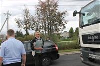 ДТП в Басова с участием четырёх автомобилей. 3 сентября 2013, Фото: 1