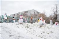 Необычная инсталляция возле средней школы №71, Фото: 31