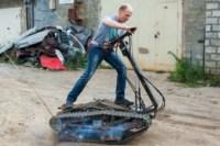 Туляк Виталий Галеев придумал сегвей на гусеницах, Фото: 21