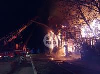 Крупный ночной пожар в Туле, Фото: 42