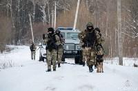 Учения: В Тульской области СОБР и ОМОН обезвредили вооруженных преступников, Фото: 16