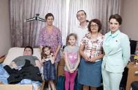Вручение виброжилета инвалиду, Фото: 18