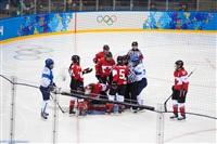 Женский хоккейный матч Канада-Финляндия. Зимняя Олимпиада в Сочи, Фото: 8