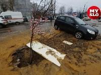 Порыв на ул. Хворостухина, 11.03.19, Фото: 8