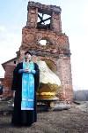 Храм в селе Ефремовского района обрел купол и крест, Фото: 17