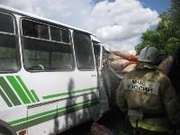 ДТП с пассажирским автобусом в Узловском районе, Фото: 7