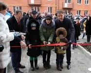 Губернатор Владимир Груздев вручил ключи от квартир новоселам в Узловском районе, Фото: 11