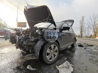 На Щекинском шоссе в Туле произошло тройное ДТП, Фото: 5