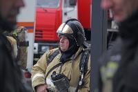 Тульские пожарные провели соревнования по бегу на 22-этаж, Фото: 15