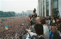 В России вспоминают путч 22-летней давности, Фото: 3