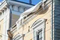Сосульки на крышах Тулы, 21.01.2016, Фото: 5
