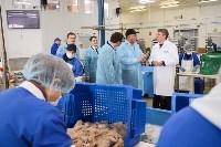 Дмитрий Миляев посетил предприятие по производству замороженной рыбы и полуфабрикатов, Фото: 25