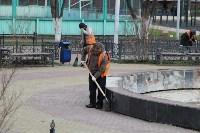 Евгений Авилов проинспектировал ход работ по благоустройству. 23 апреля 2016 года, Фото: 5