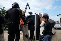В Плеханово начали сносить дома в цыганском таборе, Фото: 80