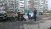 Сгорели иномарки, Фото: 2