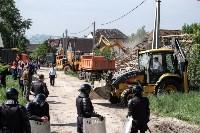 Плеханово, итоги дня: В таборе принудительно снесли первые 10 домов, Фото: 12