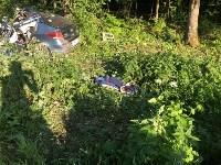 Жуткая авария в Заокском районе, Фото: 2