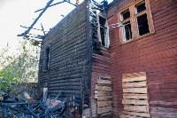Сгоревший дом на ул. Пушкинской, Фото: 1