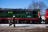 Учения МЧС на железной дороге. 18.02.2015, Фото: 41