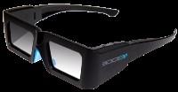 Удобные очки с активной системой 3D позволяют насладится четким, ярким, объемным изображением оригинального разрешения , Фото: 6