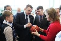 Врио губернатора Тульской области Алексей Дюмин посетил новомосковский ФОК «Мечта», Фото: 4