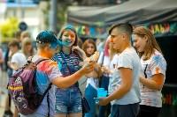 В Туле прошел фестиваль красок и летнего настроения, Фото: 27