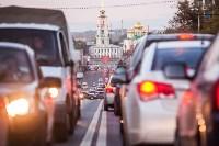 Транспортный коллапс в центре Тулы, Фото: 4
