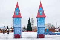 Праздничное оформление площади Ленина. Декабрь 2014., Фото: 10