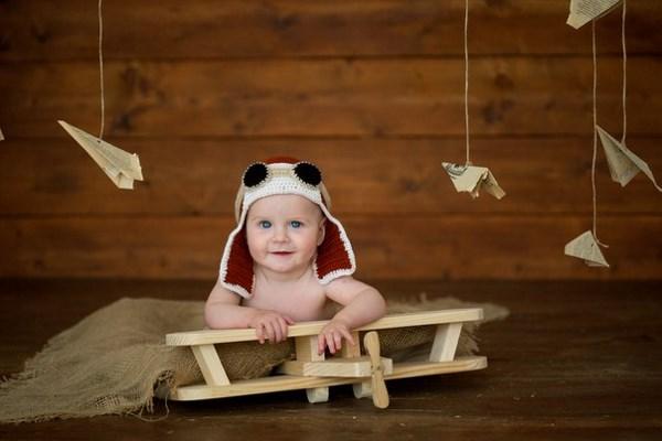 Мой маленький карапуз. На фото Фёдору 7 месяцев.)