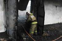 Пожар на хлебоприемном предприятии в Плавске., Фото: 9