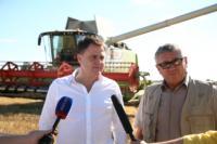 Владимир Груздев принял участие в уборочной кампании, Фото: 29