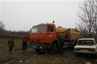 Прорыв канализации на улице Столетова, Фото: 17