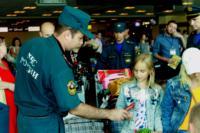 МЧС встречает беженцев в Домодедово. 9.07.2014, Фото: 6