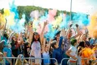 В Туле прошел фестиваль красок и летнего настроения, Фото: 159