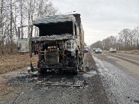 В Петелино сгорел грузовик, Фото: 8