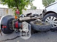 В Туле сбили мотоциклиста, Фото: 1