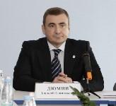 Алексей Дюмин посетил Узловский молочный комбинат, Фото: 1