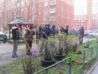 Субботник во дворе дома №19 по ул. Кирова, Фото: 9